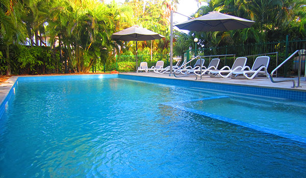 Temperature controlled Pool and Spa